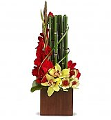 Tropical Flowers: Fantasy Found Bouquet
