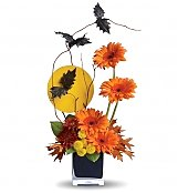 Flower Bouquets: All Hallow's Moon Bouquet