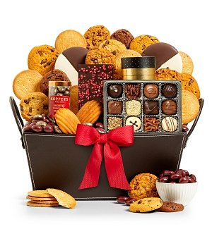 Chocolate & Sweet Baskets: Chocolate Bliss Gift Basket