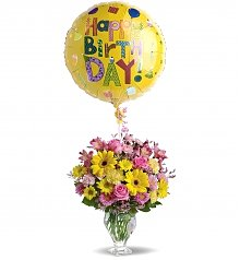 Flower Bouquets: Birthday Wishes Bouquet