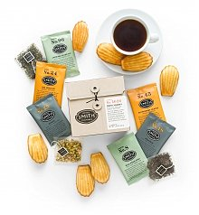 Coffee & Tea Gift Baskets: Tea Time and Madeleines