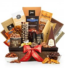 Gourmet Gift Baskets: Generous Gourmet Nuts and Chocolate Basket