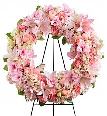 Funeral Flowers: Loving Remembrance Wreath