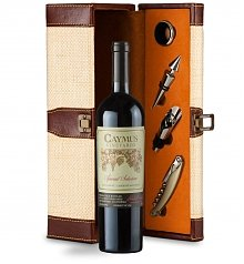 Luxury Wine Baskets: Caymus Special Selection Sommelier's Set