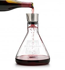 Wine Accessories & Decanters: Personalized Name Wine Decanter