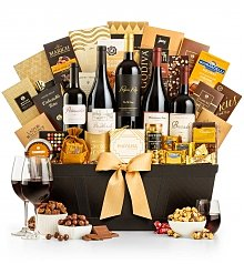 Wine Baskets: Gold Reserve Wine Collection