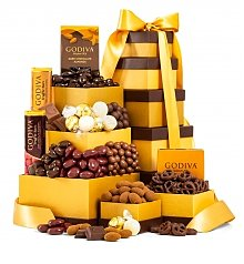 Gift Towers: Godiva Deluxe Tower