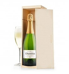 Wine Gift Crates: Dunlin California Brut Sparkling Wine Crate