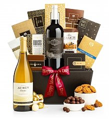 Wine Baskets: California Classic Wine Basket for Mom