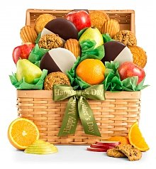 Fruit Baskets: Mother's Day Premium Grade Fruit & Cookies