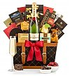 Champagne Gift Baskets: Champagne Wishes Gift Basket